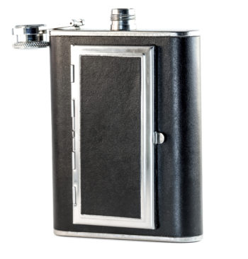 Perfect Pregame Cigarette Flask