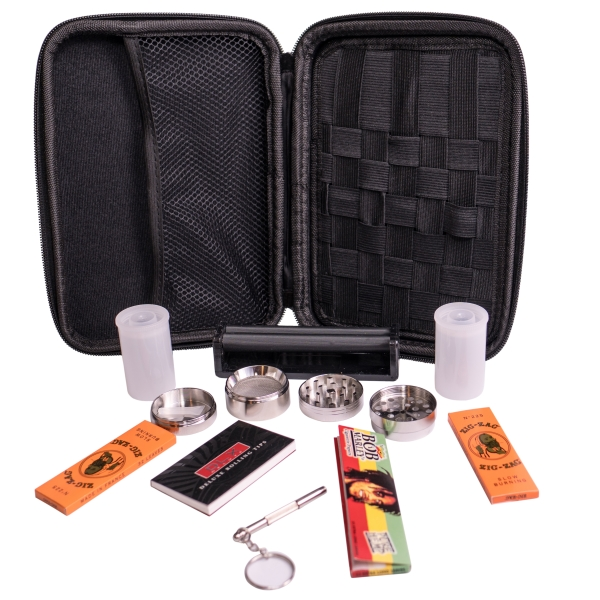 Perfect Pregame Stoner Kit with Rolling Machine