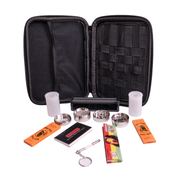 Perfect Pregame Stoner Kit w/ Rolling Machine, Stoner Starter Kit, Survival Kit, Essentials