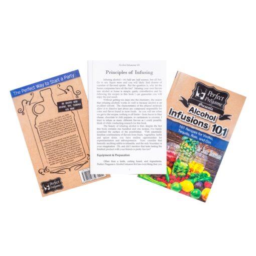Perfect Pregame Alcohol Infusion Recipe Book